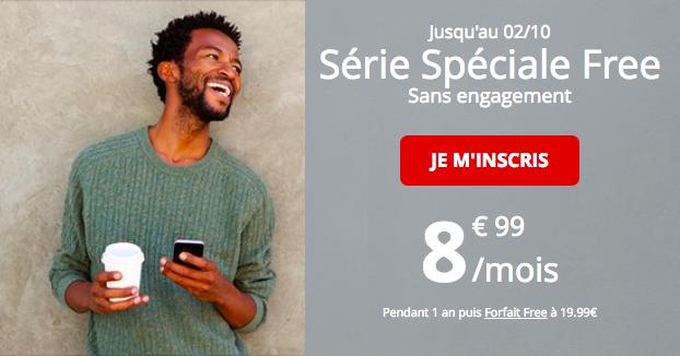 L'abonnement spécial de Free Mobile.
