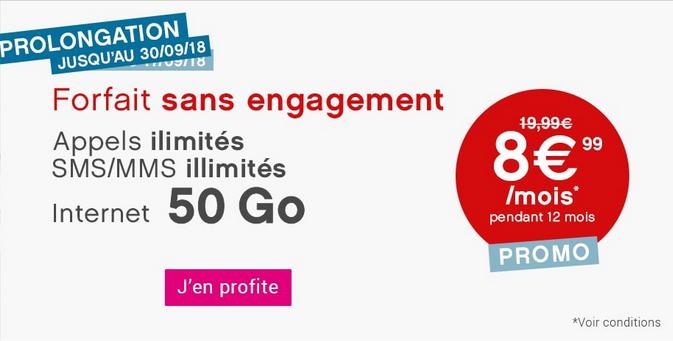 Coriolis Télécom promotion forfait mobile pas cher.