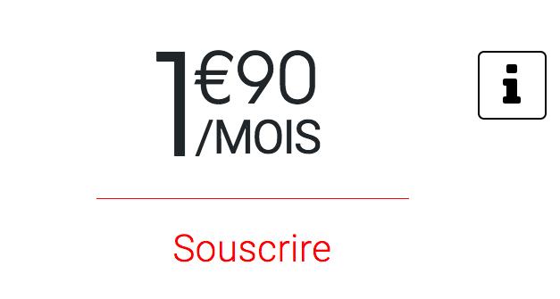 Le forfait à moins de 2€ de Syma Mobile