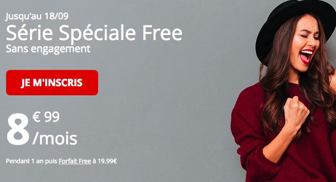 Le forfait en promo de Free mobile 60 Go