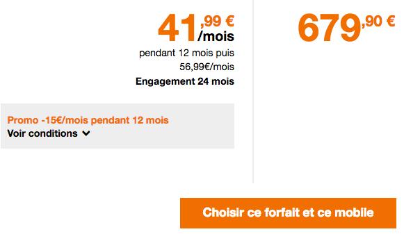 Orange propose les derniers iPhone XS et XS Max d'Apple moins cher avec le forfait mobile Play 40 Go.