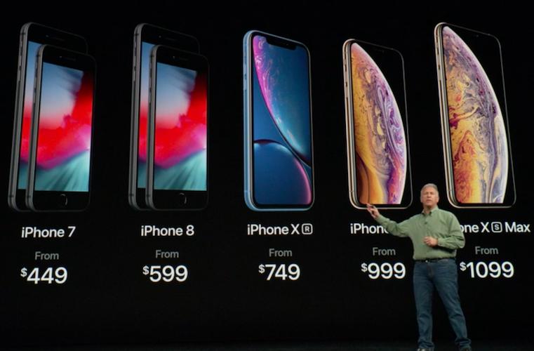 apple pr sente trois nouveaux iphone d couvrez les prix et les dates de sortie. Black Bedroom Furniture Sets. Home Design Ideas