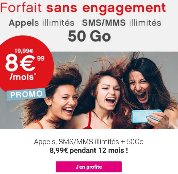 Coriolis Télécom promotion forfait sans engagement 4G.