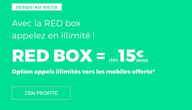 RED Box ADSL ou Fibre optique pas chère.