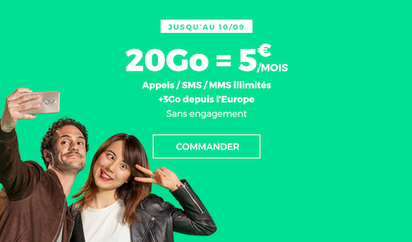 Promotion forfait pas cher RED by SFR