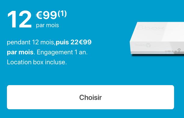 la Bbox fit de Bouygues Télécom.