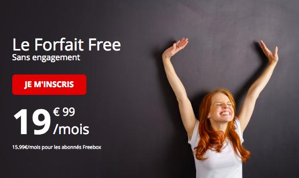 L'offre 100 Go de Free Mobile.
