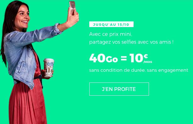 L'offre à 10€ de RED by SFR.