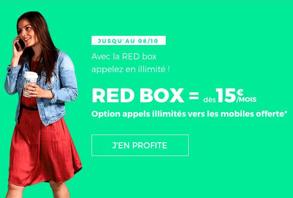 La box Internet de RED by SFR.