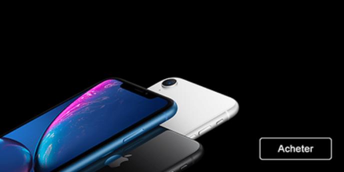 Acheter l'iPhone XR d'Apple chez Sosh avec un forfait mobile sans engagement.