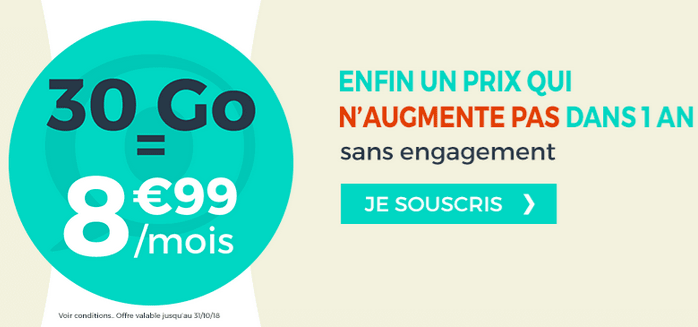 Promotion Cdiscount Mobile forfait