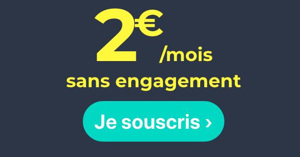 Cdiscount Mobile et son forfait à 2€ : pas cher !
