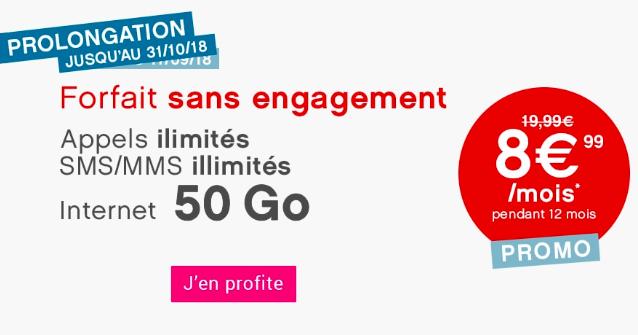 Le forfait Coriolis Telecom.