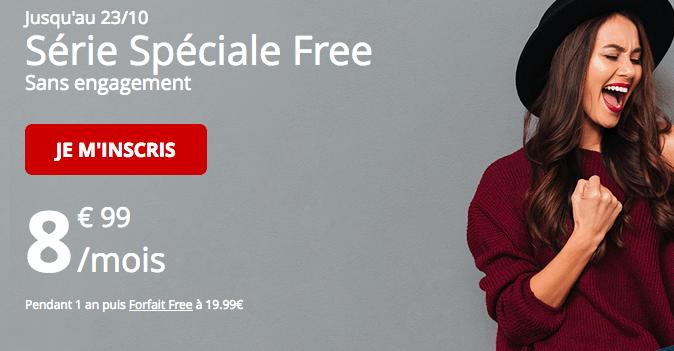 Le Forfait Free proposé en série spéciale avec 60 Go de 4G.