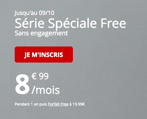 Forfait illimité en promotion et pas cher chez Free Mobile avec 60 Go de 4G.