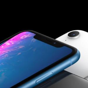 Dos et façade de l'iPhone XR.