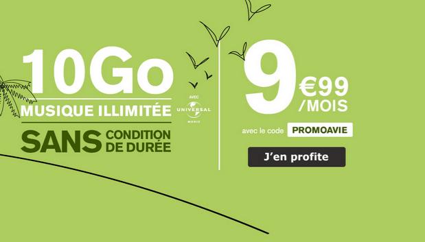 La Poste Mobile promotion forfait mobile 4G.