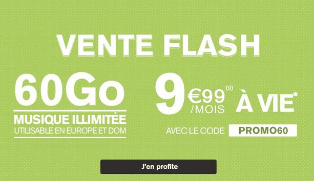 Promotion sur les forfaits mobiles La Poste Mobile.
