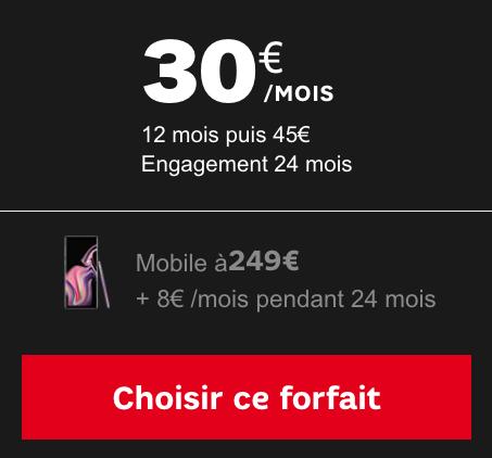 Forfait illimité avec 50 Go de 4G pour accompagner le Galaxy Note 9 de Samsung à bas prix chez SFR