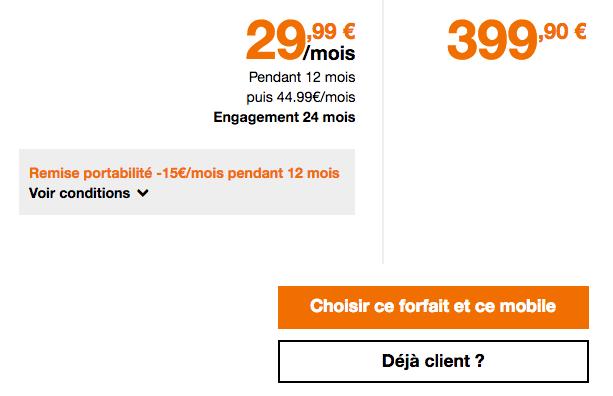 Promotion Huawei Mate 20 Pro chez Orange.