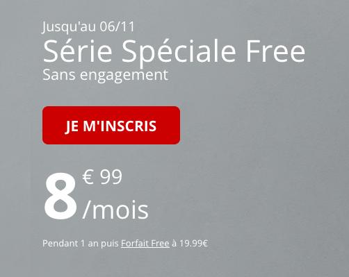 Un forfait pas cher, illimité et sans engagement avec 60 Go d'Internet 4G chez Free Mobile.