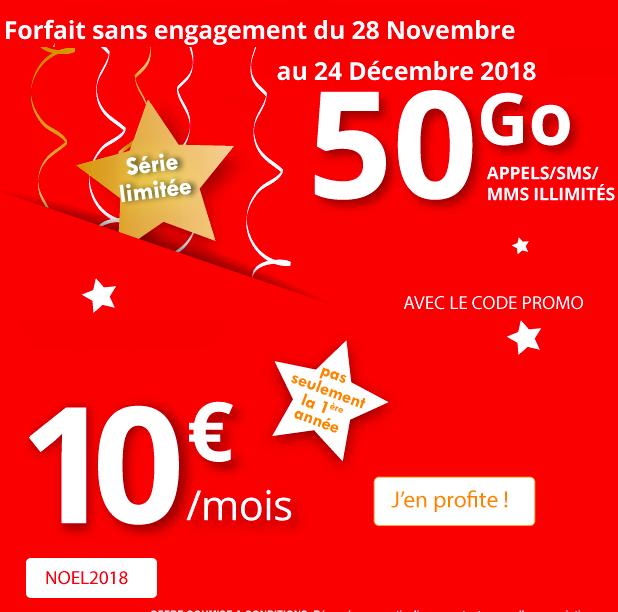 L'offre spéciale d'Auchan Telecom.
