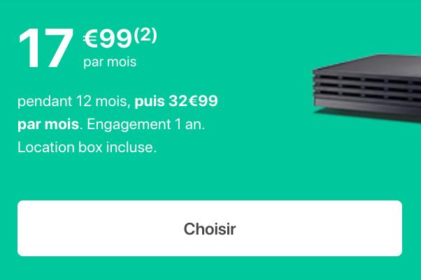 La Bbox Must de Bouygues Telecom.