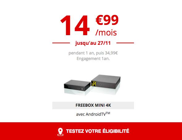 La Freebox mini 4K.
