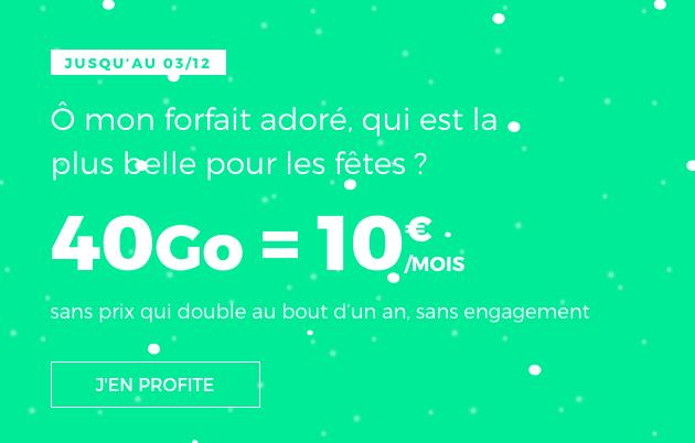 Détails du forfait de RED by SFR.