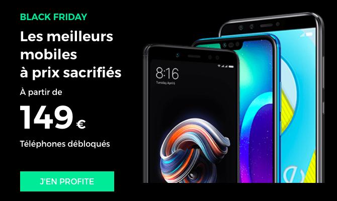Les smartphones du Black Friday avec RED by SFR.