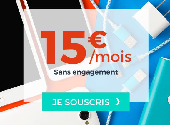 Pas cher, pour 40 Go de 4G : le forfait illimité de Cdiscount Mobile à 15€.