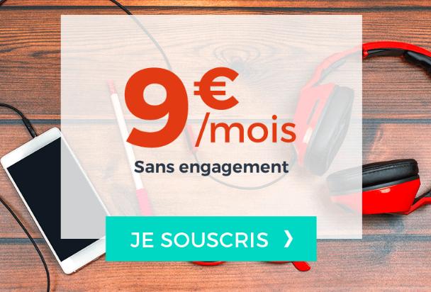 9€ par mois pour SMS MMS illimités ,le forfait illimité de Cdiscount Mobile.