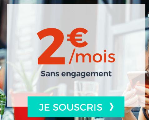 Cdiscount Mobile avec un forfait pas cher, l'Efficace, à 2€.
