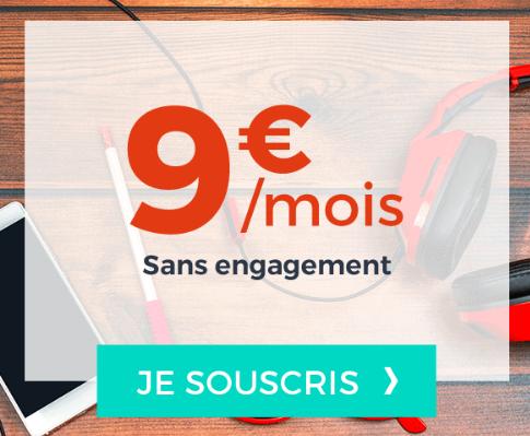 9€ pour un forfait illimité à bas prix chez Cdiscount Mobile.