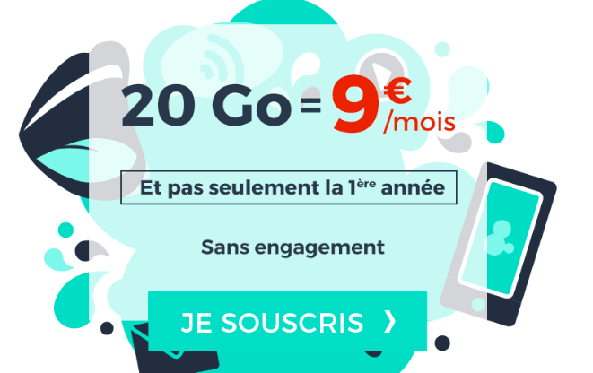 Cdiscount Mobile promotion forfait 4G.