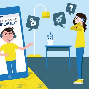 Contacter service client La Poste Mobile