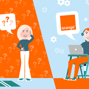 Contacter service client Orange