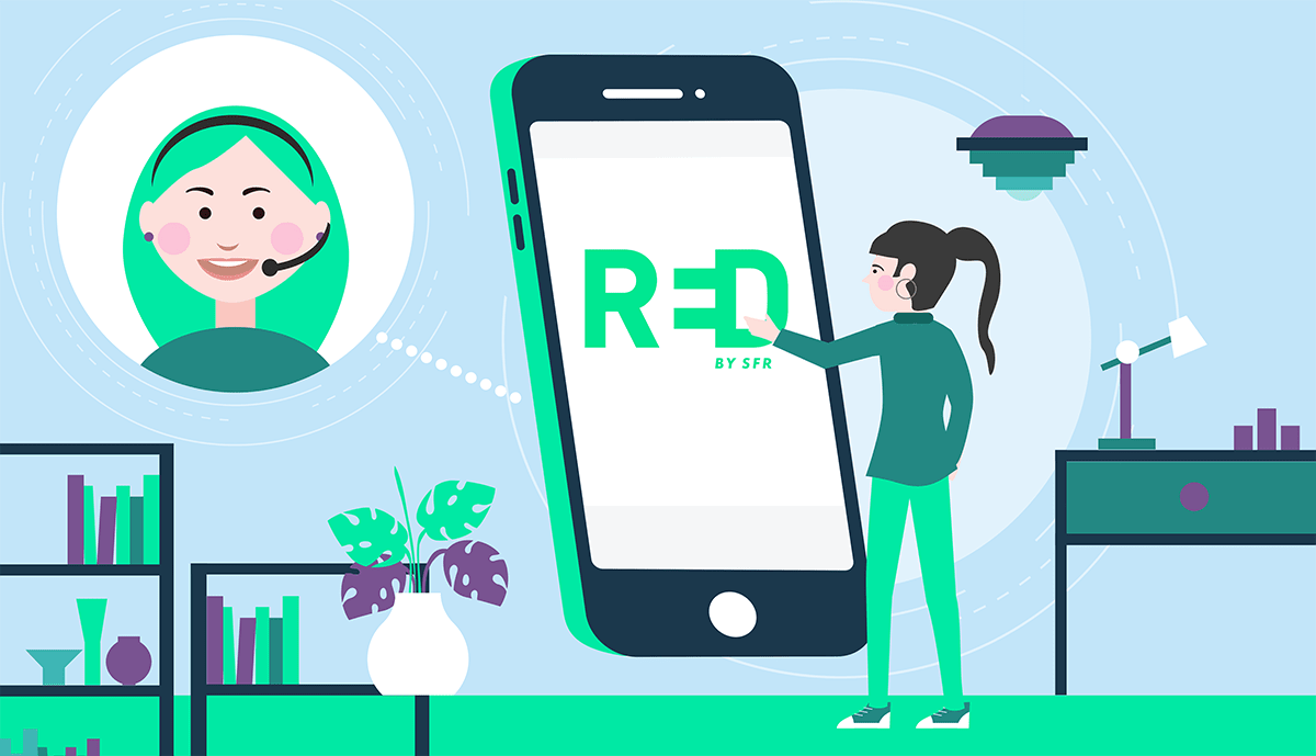 Comment contacter le service client RED by