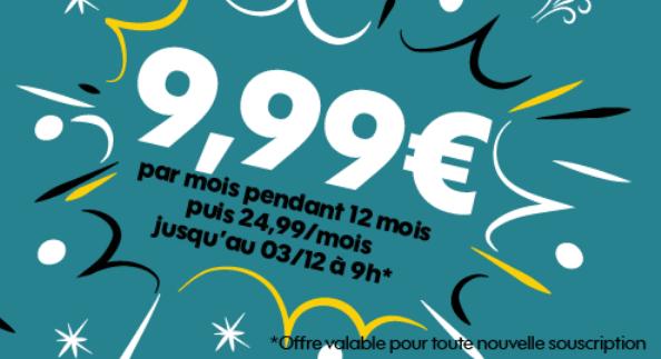 Promotion forfait mobile Sosh avec 50 Go de 4G pas cher.