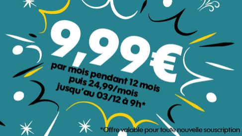 Sosh forfait sans engagement 50 Go 4G pas cher.