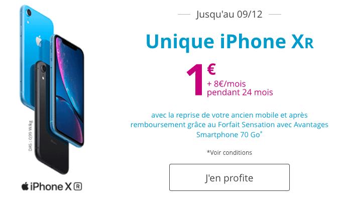 iPhone XR pas cher chez Bouygues Telecom.