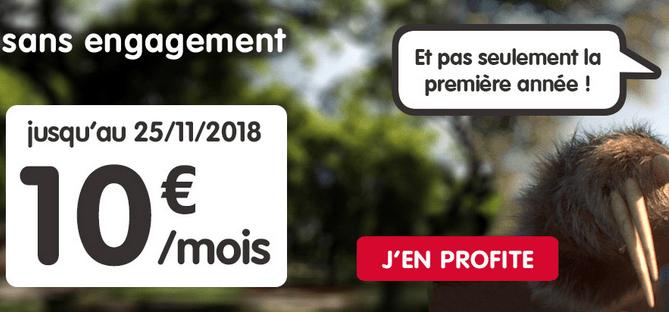 Promotion forfait mobile NRJ Mobile.