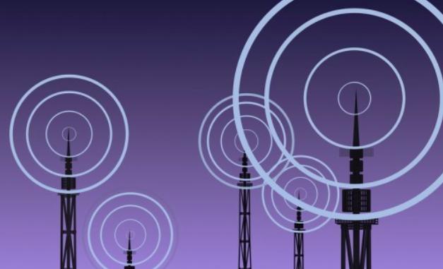 Des ondes radio.