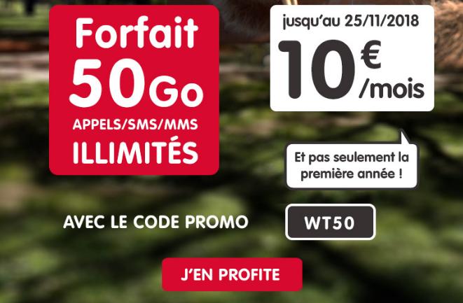 Promotion NRJ mobile grâce à code promo.