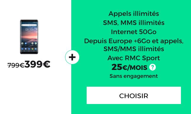 RMC Sport, un smartphone haut de gamme pas cher, et un forfait en promotion pour le Black Friday chez RED by SFR.