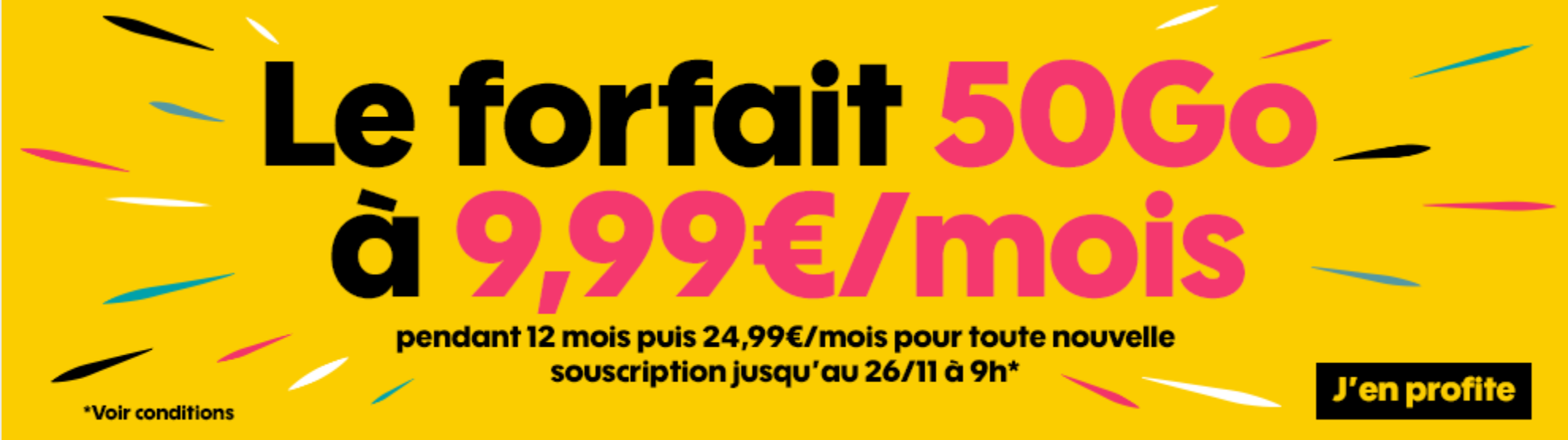 Forfait Sosh Black Friday