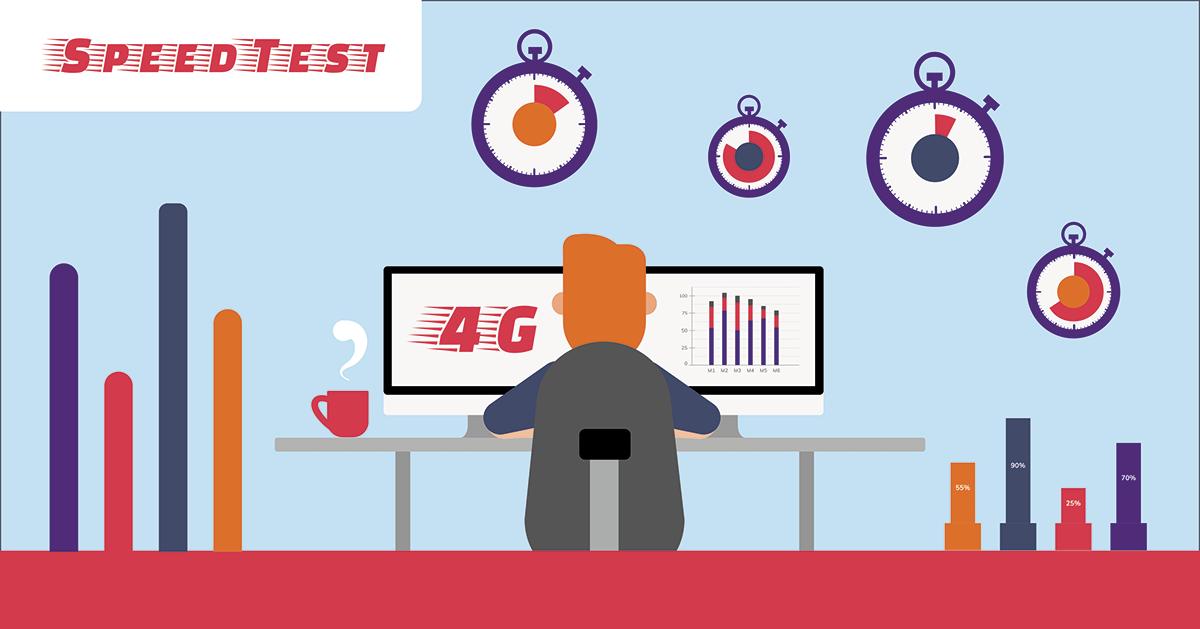Test débit 4G