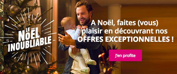 Les offres de Noel de Bouygues Telecom.