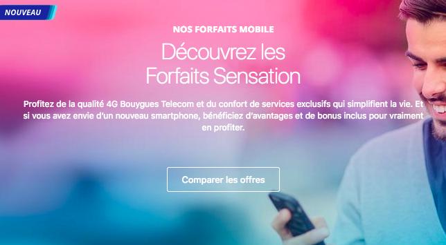 Découvrir les offres Sensation de Bouygues Telecom.