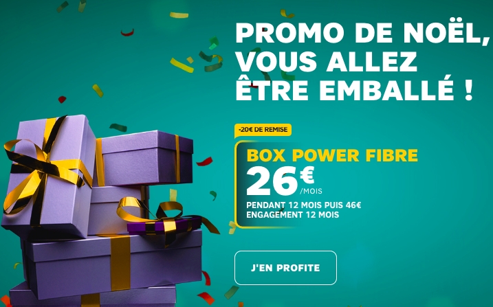 La box internet Power de SFR.
